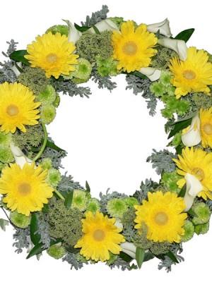 gerbera-wreath